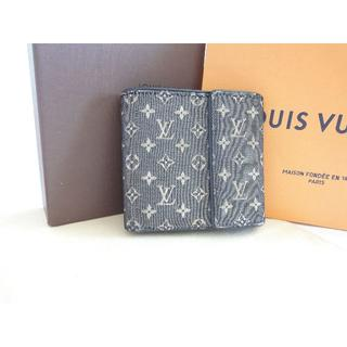 31caa879b02a LOUIS VUITTON - 【Louis Vuitton】 二つ折り財布☆ エピ ブルー ...