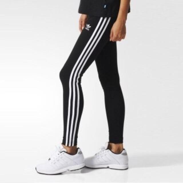 adidas(アディダス)のアディダス  スキニーレギンス レディースのレッグウェア(レギンス/スパッツ)の商品写真