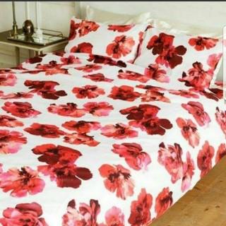 rienda - セミダブル3点セット rienda リエンダ Bold Flower 寝具セット