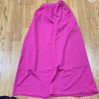ジーユー(GU)のGU フレア スカート(ひざ丈スカート)