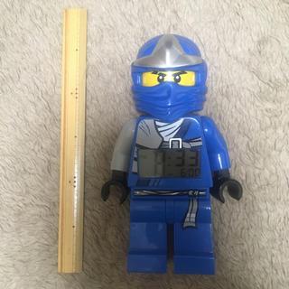レゴ(Lego)の希少LEGO レゴ ニンジャゴー ジェイ目覚まし時計(アラーム)並行輸入品(積み木/ブロック)
