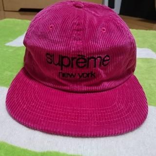 シュプリーム(Supreme)のsupreme cap pink シュプリーム キャップ ピンク(キャップ)