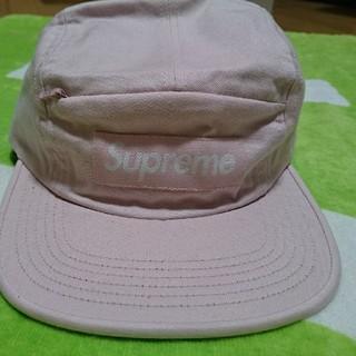 シュプリーム(Supreme)のsupreme camp cap pink シュプリーム キャップ ピンク(キャップ)