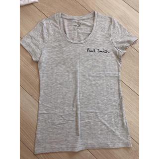 ジーユー(GU)のアイロンプリント ポールスミス(Tシャツ(半袖/袖なし))
