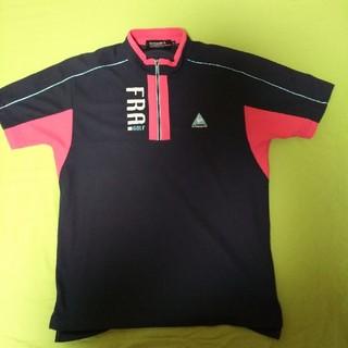 ルコックスポルティフ(le coq sportif)のルコックスポルティフ ジップシャツ 半袖(ウエア)