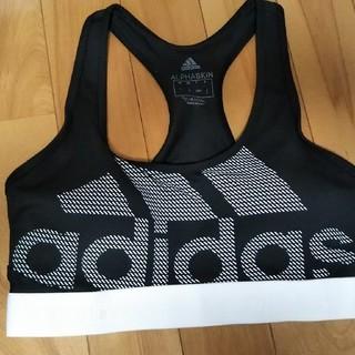 アディダス(adidas)のアディダス ブラトップ Lサイズ  黒 2枚セット(ベアトップ/チューブトップ)