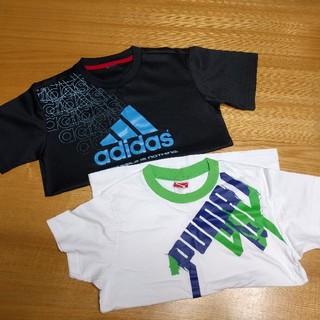 adidas - 140cm Tシャツ 2枚セット