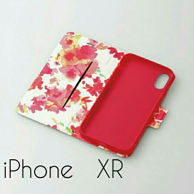 ELECOM - iPhone XR ケース 手帳型 レザー ウルトラスリムフラワーの通販 by chakun's shop|エレコムならラクマ