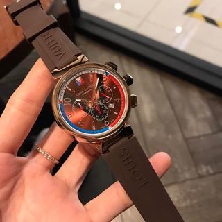 LOUIS VUITTON - 激売れ LOUIS VUITTON ヴィトン 腕時計 42mm ほぼ新品 ラバー