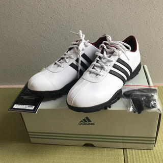 アディダス(adidas)のアディダスゴルフシューズ【新品未使用 24.0cm】(シューズ)