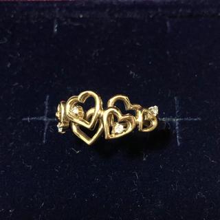 サマンサティアラ(Samantha Tiara)のK18 サマンサティアラ ハート リング18金 K14 14金 K10 10金(リング(指輪))