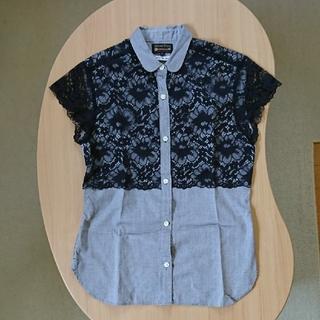 デミルクスビームス(Demi-Luxe BEAMS)のデミルクスビームス レース ブラウス(シャツ/ブラウス(半袖/袖なし))