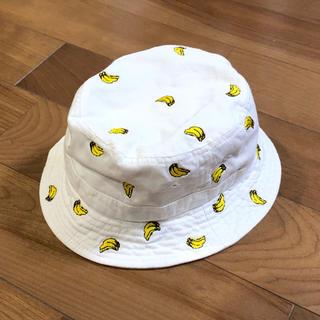 プティマイン(petit main)の☆美品☆プティマイン購入バナナ柄ハット帽子(帽子)