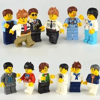 レゴ(Lego)のLEGO レゴ 互換品 ミニフィグ 12体セット(知育玩具)