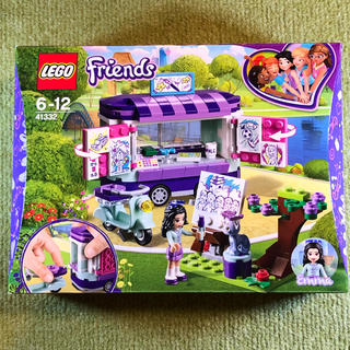 レゴ(Lego)のレゴ フレンズ エマのお絵かきワゴン 41332(知育玩具)