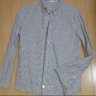 ジーユー(GU)のGU ストライプシャツ(シャツ/ブラウス(長袖/七分))