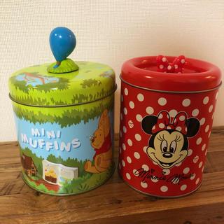 Disney - 2004年、2010年物★ディズニー レア お菓子の空き缶セット