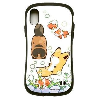 アイフォーン(iPhone)のタヌキとキツネ iPhone XS X 対応 iFace 金魚(iPhoneケース)