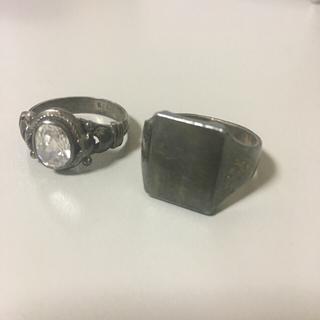 シルバー925 指輪 リング 印台(リング(指輪))