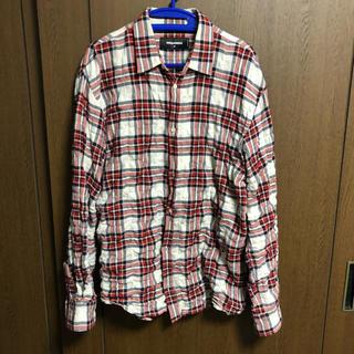 ディースクエアード(DSQUARED2)の激安⁉️ カッコいい‼️ 2017ss チェックシャツ(シャツ)