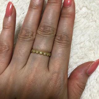 タンジェ k18ダイヤリング(リング(指輪))