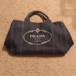 プラダ(PRADA)のPRADA カナパ デニム(ハンドバッグ)