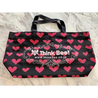シンクビー(Think Bee!)の超美品◎Think Bee 布製手提げバッグハート激カワ(ハンドバッグ)