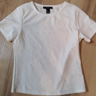 フォーエバートゥエンティーワン(FOREVER 21)の白T(Tシャツ(半袖/袖なし))