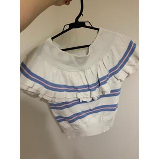リズリサ(LIZ LISA)の値下げ可能◯ LIZLISA肩出しトップス(Tシャツ(半袖/袖なし))
