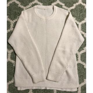 GU - GU 白セーター Sサイズ