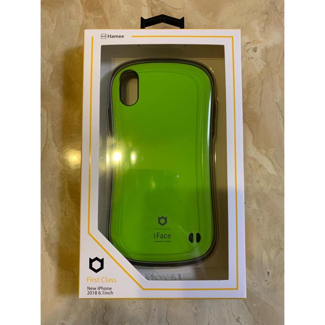 iFace first class グリーン XRの通販 by kotamilk SHOP|ラクマ