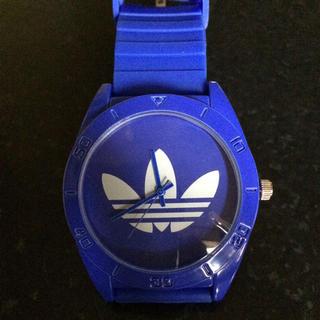 アディダス(adidas)のアディダス腕時計ブルー(腕時計)