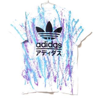 アディダス(adidas)の2019年大トレンド タイダイ アディダス Tシャツ(Tシャツ/カットソー(半袖/袖なし))
