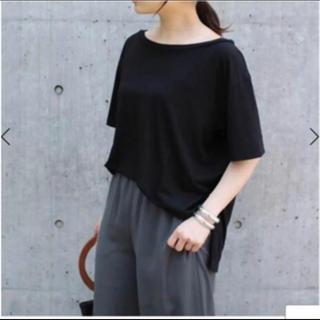 アパルトモンドゥーズィエムクラス(L'Appartement DEUXIEME CLASSE)の極美品 Deuxieme Classe CALUX MODAL Tシャツ◆(Tシャツ(半袖/袖なし))