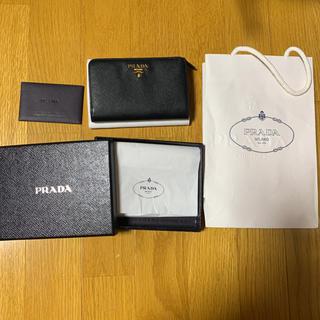 プラダ(PRADA)のPRADA サフィアーノ 折りたたみ財布(財布)