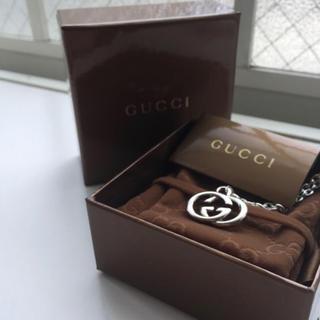 グッチ(Gucci)の正規品 GUCCI グッチ シルバー ネックレスチャーム 即購入大歓迎‼️(ネックレス)