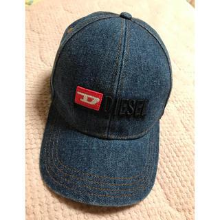 ディーゼル(DIESEL)のディーゼル  DIESEL  今季 キャップ  帽子  デニム(キャップ)