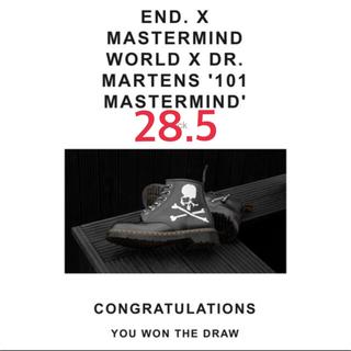 マスターマインドジャパン(mastermind JAPAN)のMASTERMIND WORLD × END. × DR.MARTENS (ブーツ)