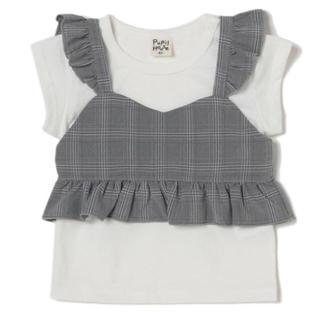 petit main - pupilhouse  フリルキャミ Tシャツ