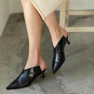 アメリヴィンテージ(Ameri VINTAGE)の【新品・未使用】AMAIL Clean mannish shoes スリッポン(スリッポン/モカシン)
