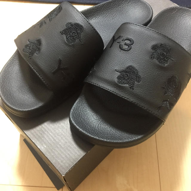 Y-3(ワイスリー)のY-3 ADILETTE AOP 19ss メンズの靴/シューズ(サンダル)の商品写真