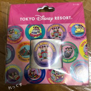 Disney - ディズニー レトロ シール