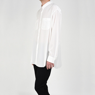 LAD MUSICIAN - ラッドミュージシャン ロングbig白シャツ