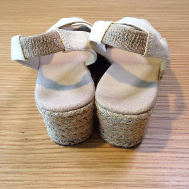 MUJI (無印良品)(ムジルシリョウヒン)の無印良品 エスパドリーユサンダル 25 レディースの靴/シューズ(サンダル)の商品写真