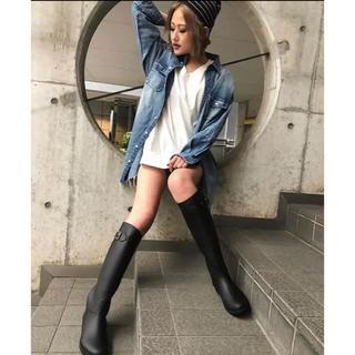 ジェイダ(GYDA)のGYDA ノベルティ レインブーツ 長靴 黒 ブラック(レインブーツ/長靴)