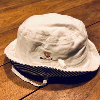 ミキハウス(mikihouse)のミキハウス ベビー キャップ  44(帽子)
