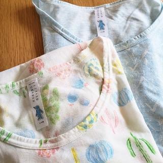 ウンナナクール(une nana cool)の汗消臭 給水速乾 サラ男 半袖シャツ 2枚セット(アンダーシャツ/防寒インナー)