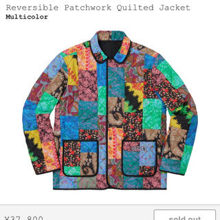 Supreme - Reversible Patchwork Quilted Jacket XL