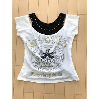 セシール(cecile)のCECIL McBEE Tシャツ&タンクトップセット☆M(カットソー(半袖/袖なし))