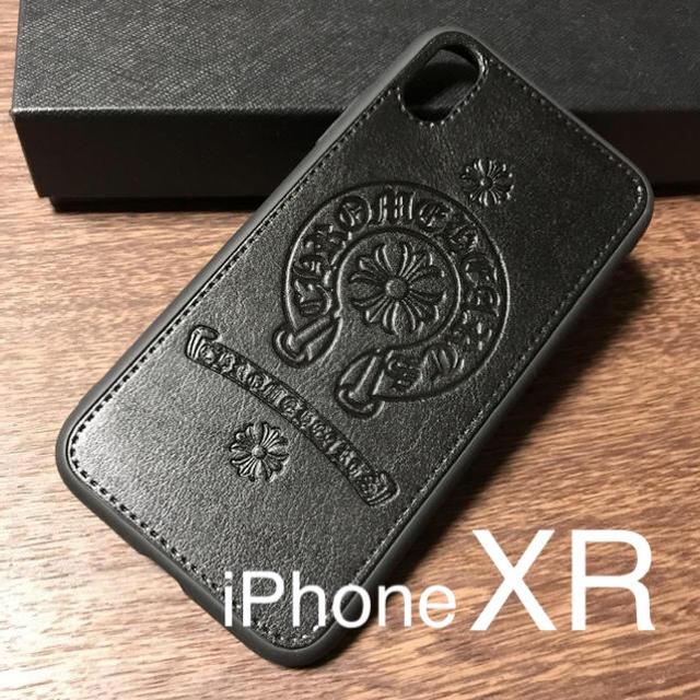 シュプリーム アイフォーンxs ケース | 【新品】iPhoneXR クロム風PUレザーケースの通販 by kaz@iPhone |ラクマ